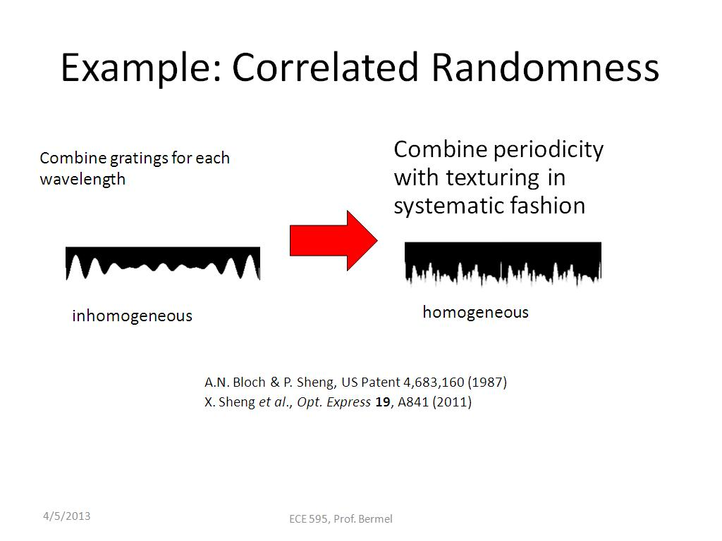 Example: Correlated Randomness