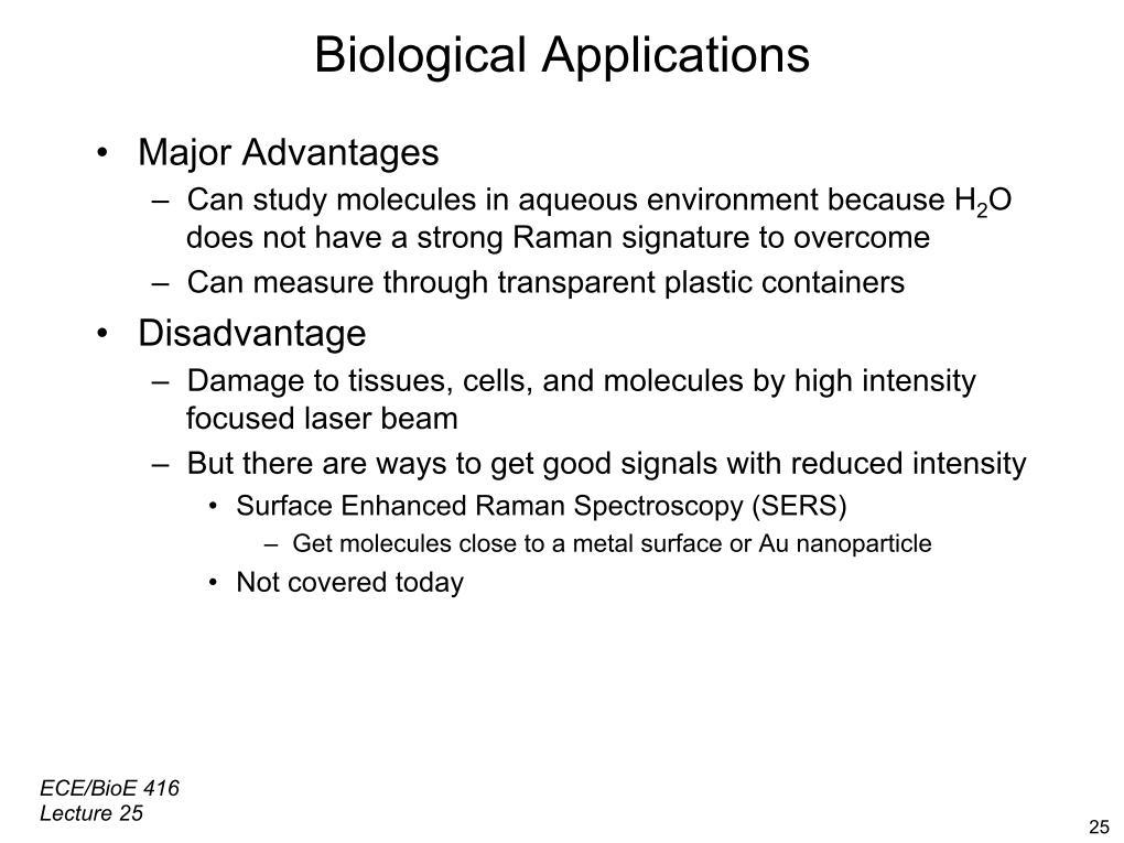 nanoHUB org - Resources: [Illinois] ECE 416 Lecture 36: Raman