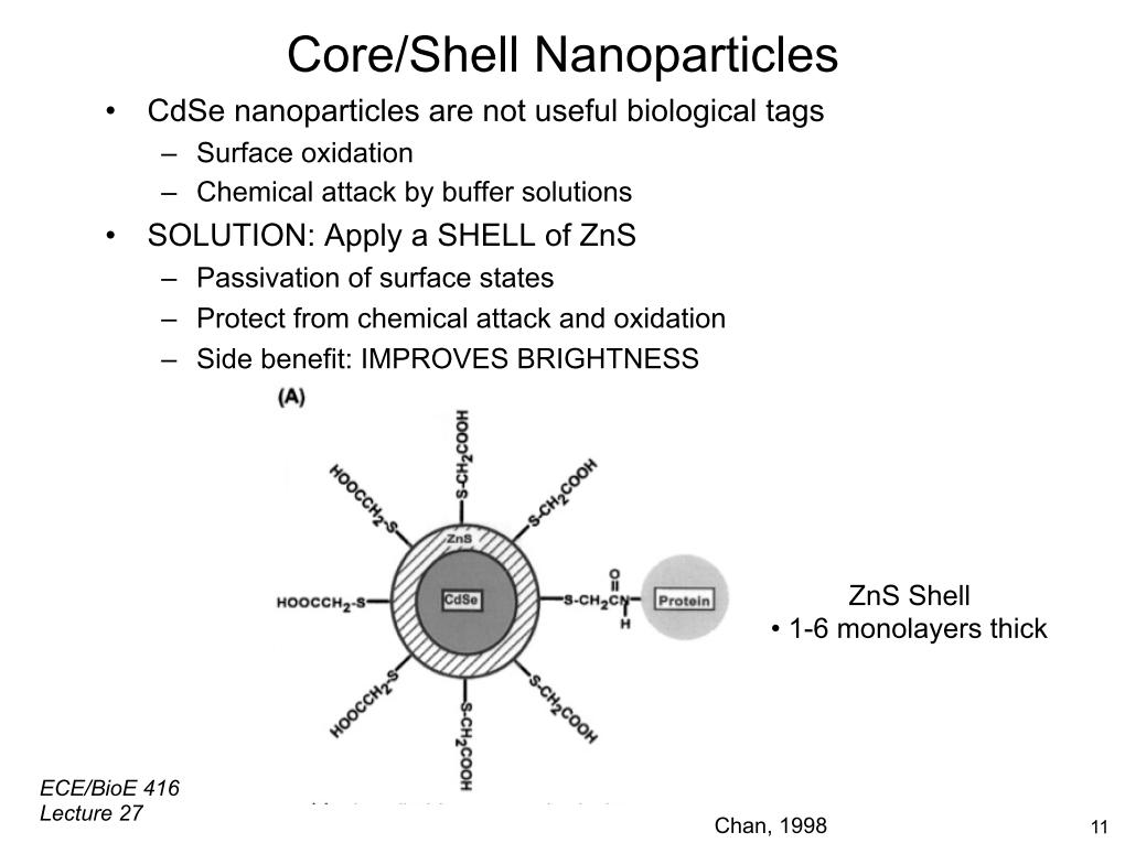Core/Shell Nanoparticles