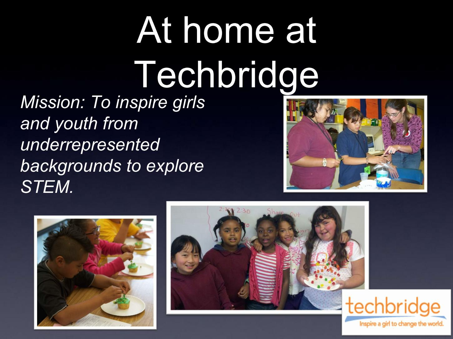 At home at Techbridge