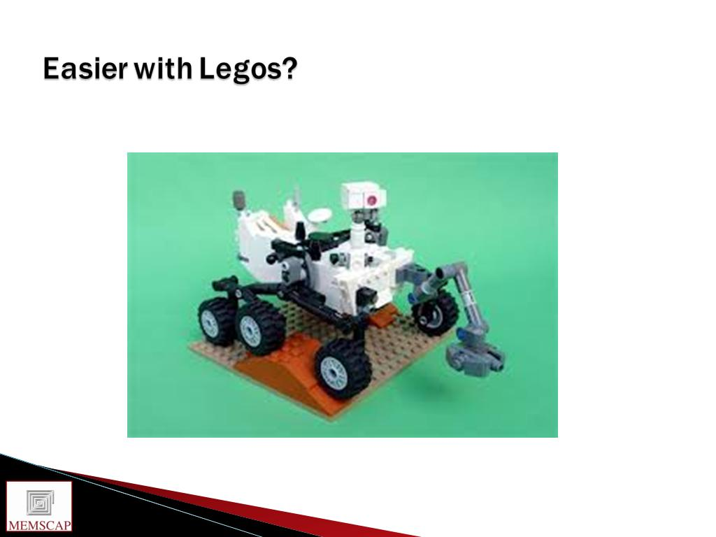 Easier with Legos?
