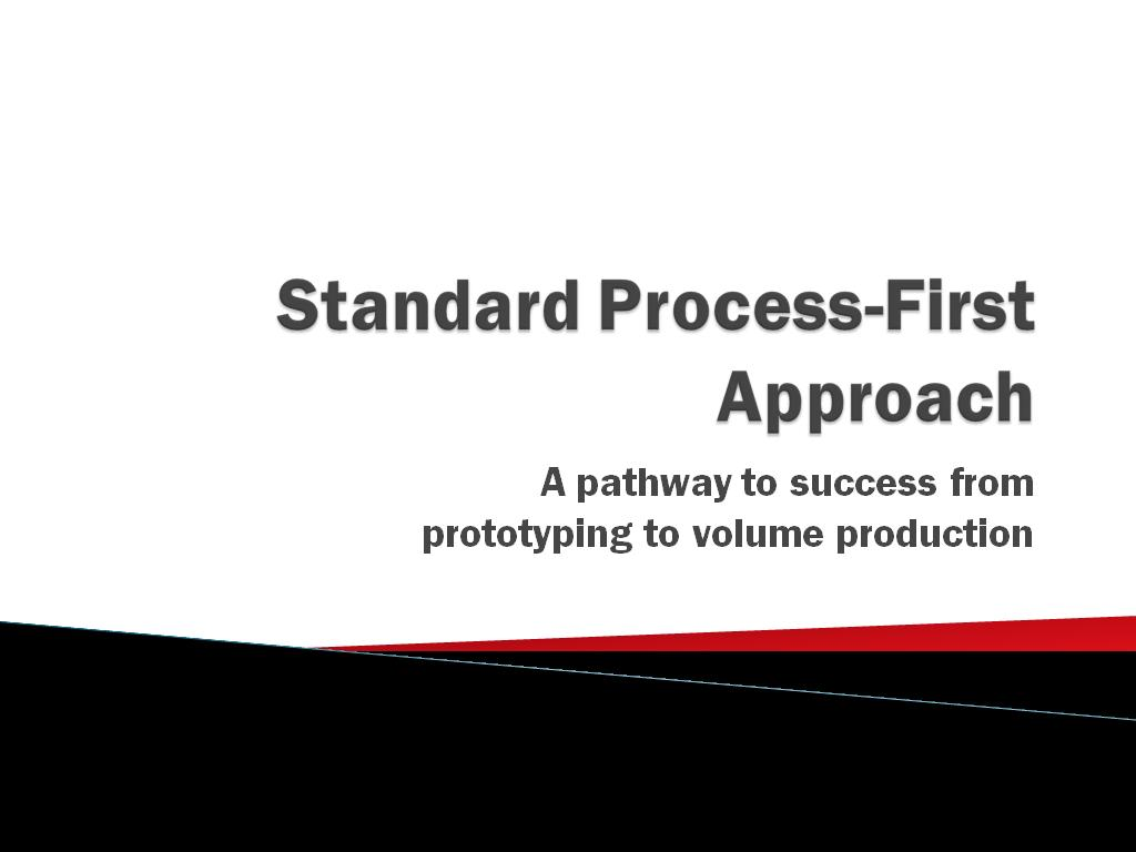 Standard Process-First Approach