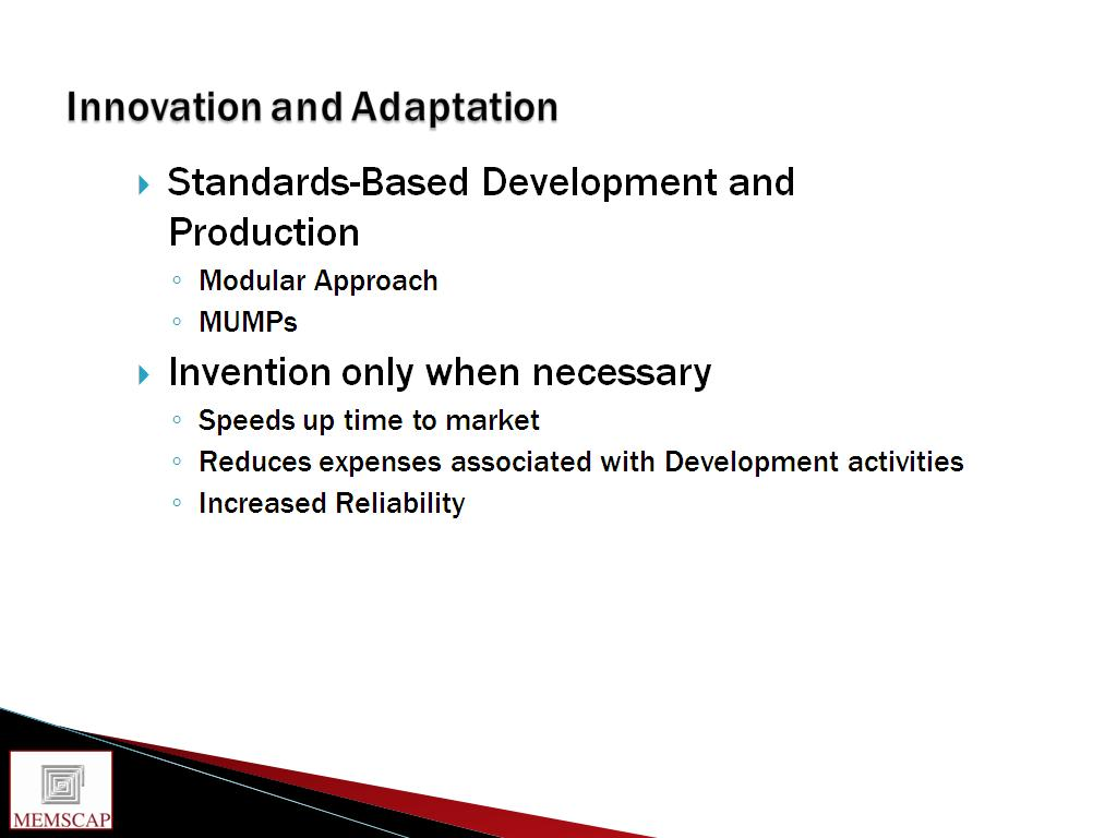 Innovation and Adaptation