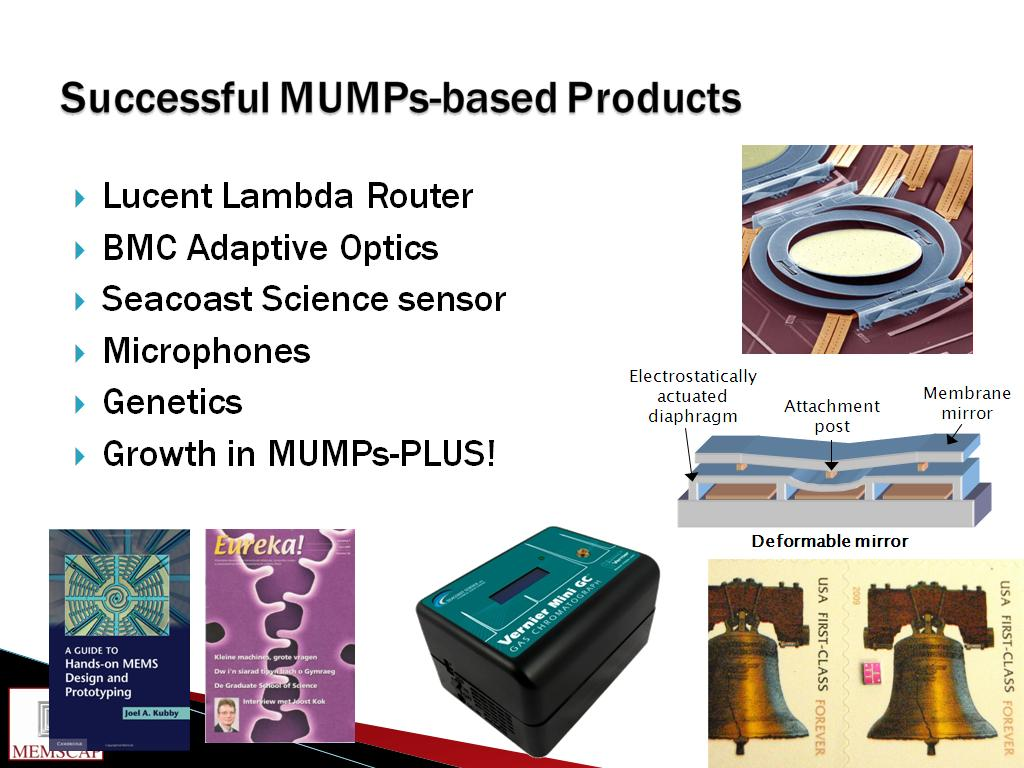Successful MUMPs-based Products