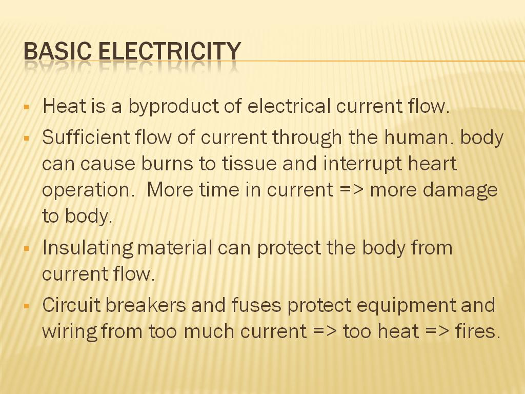Resources Electrical Safety Safe Work Practices On Pinterest Electric Circuit And Science Level N Module Watch Presentation