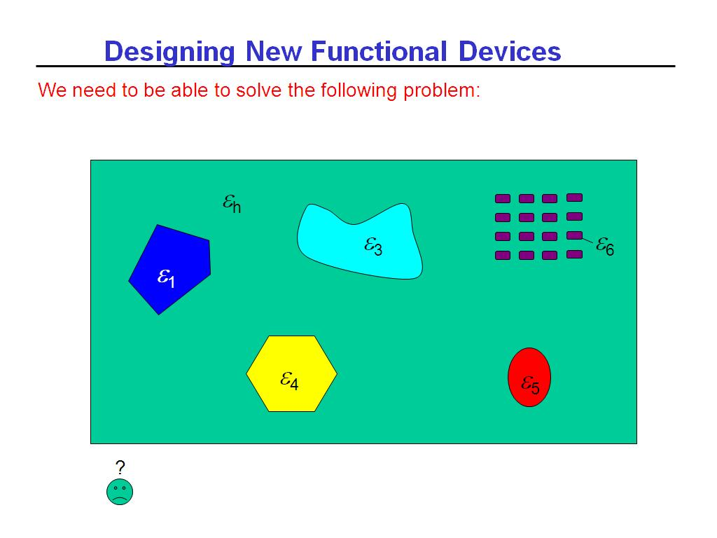Designing New Functional Devices