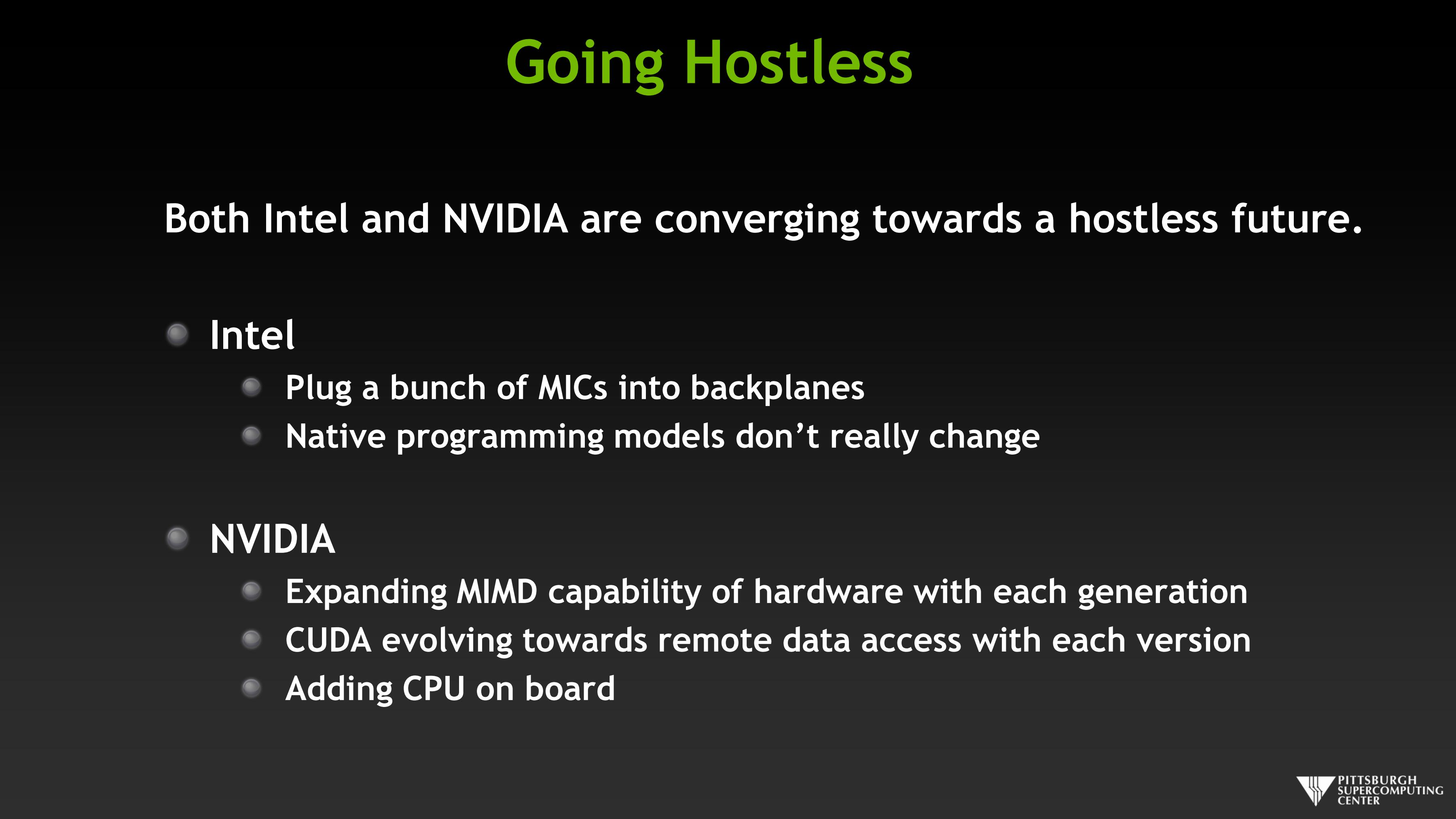Going Hostless