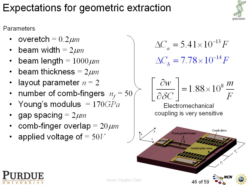 Expectations for geometric extraction