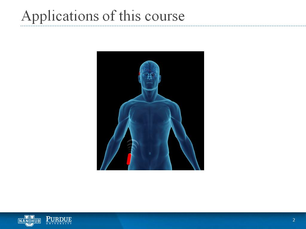 Applications of this course