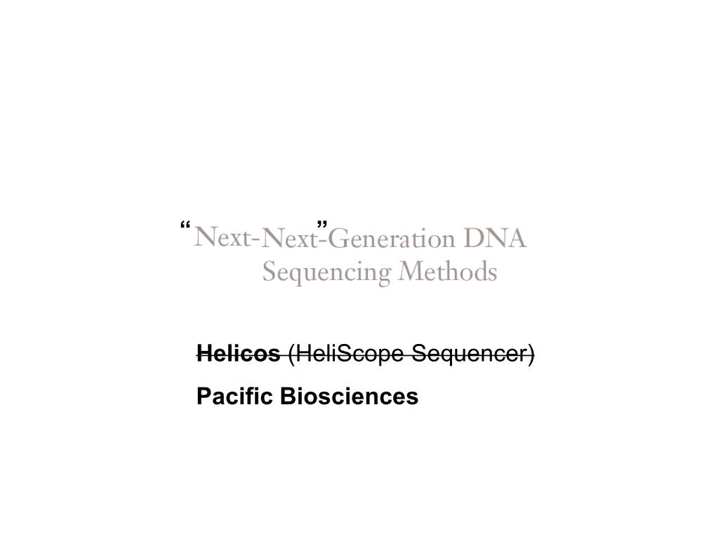 next generation sequencing methods pdf