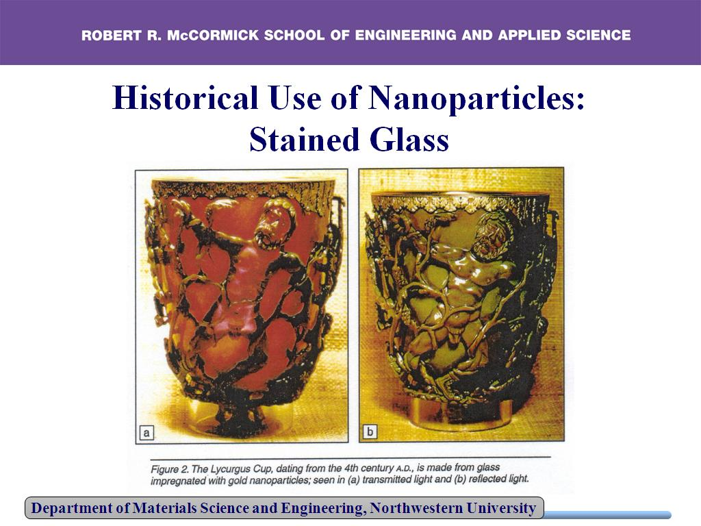 Historical Use of Nanoparticles: Stained Glass