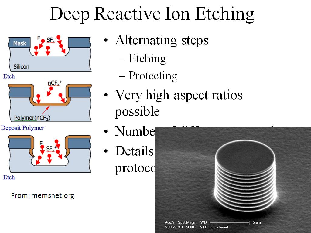 nanoHUB.org - Resources: ME 517 Lecture 09: Microfabrication ...