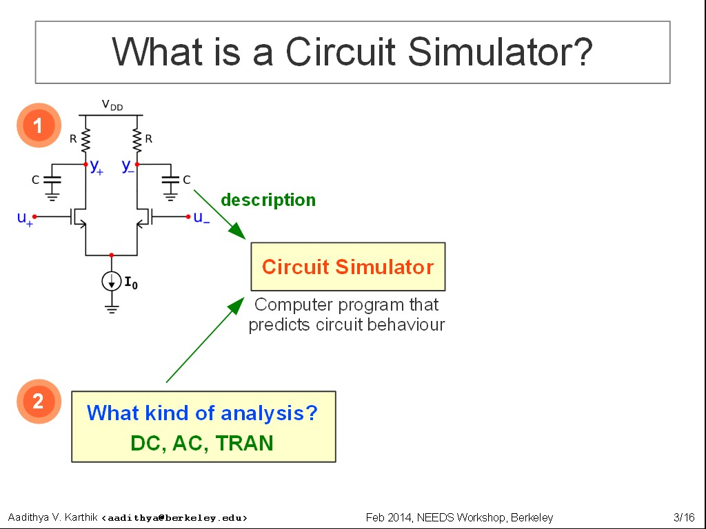 nanoHUB org - Resources: A Quick Circuit Simulation Primer: Watch