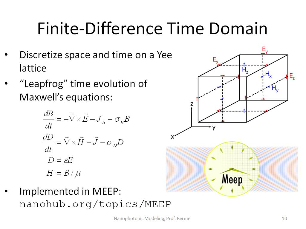 Finite-Difference Time Domain