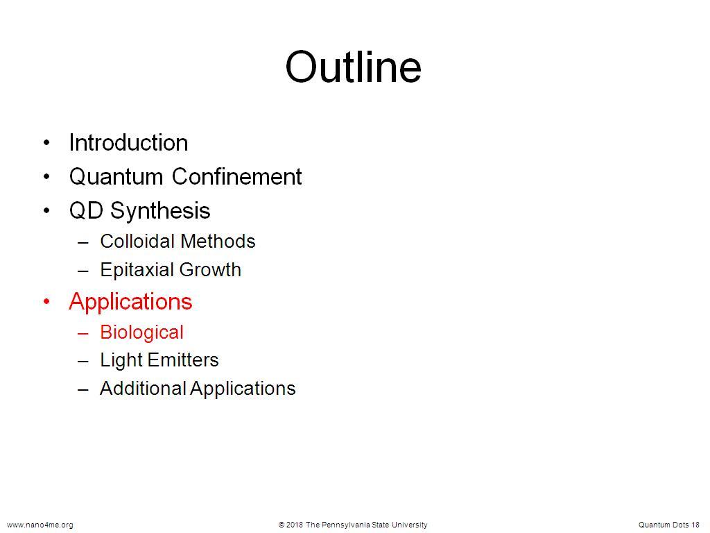 nanoHUB.org - Resources: E SC 213 Lecture 4.1: Quantum Dots ...
