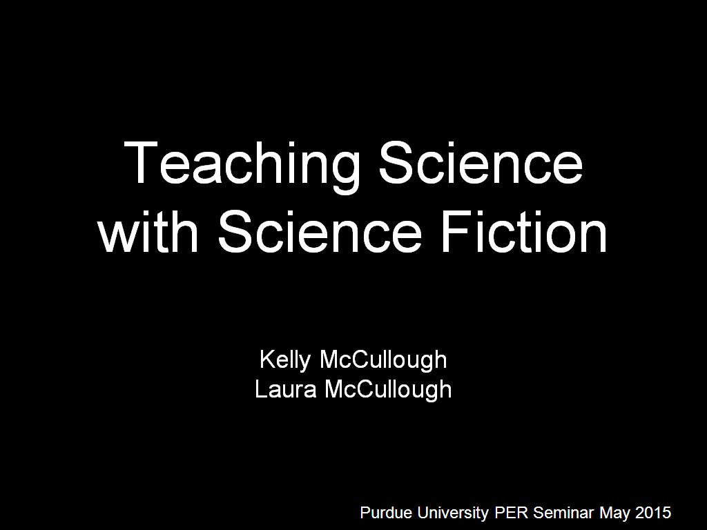 Teaching Science with Science Fiction