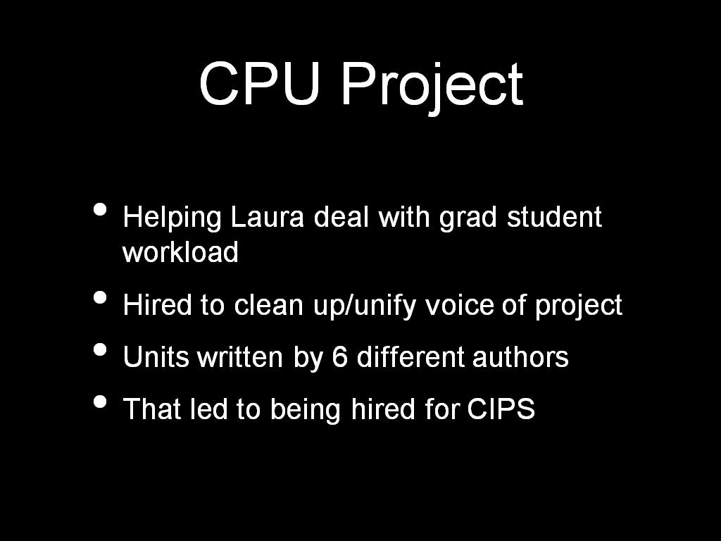 CPU Project