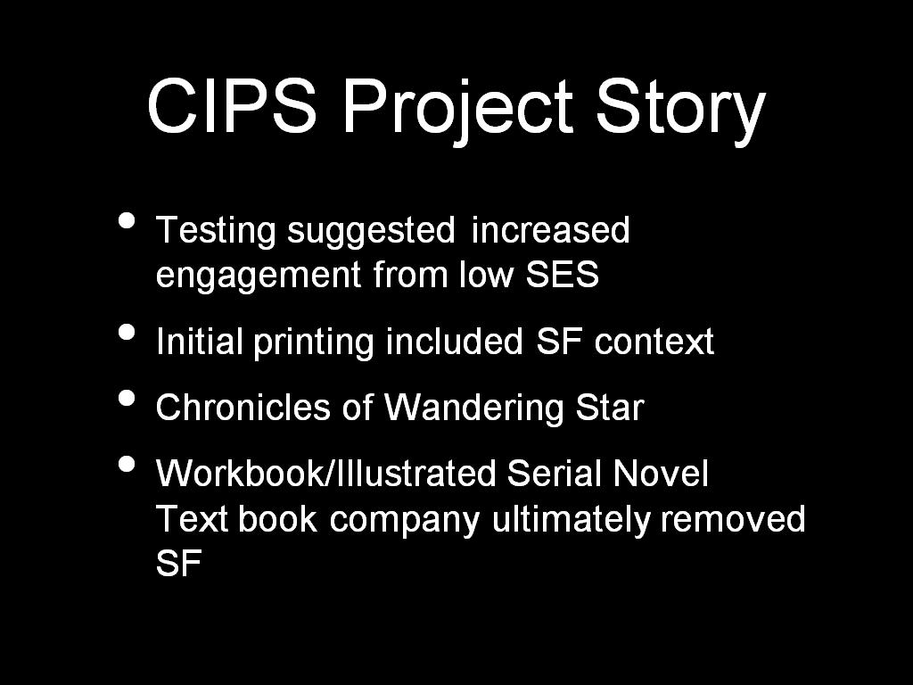 CIPS Project Story