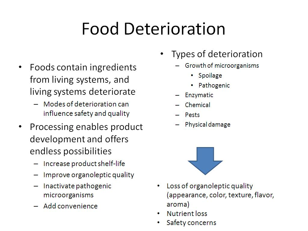 nanoHUB org - Resources: Challenges in Food Safety and Potential of