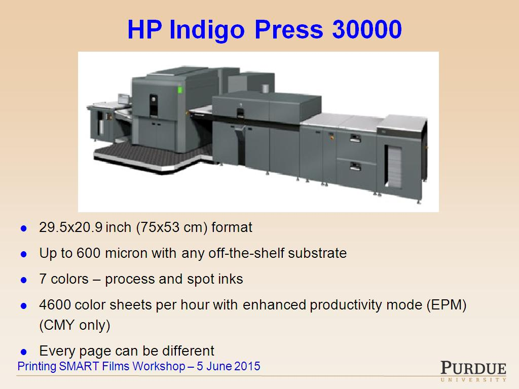 Color printing at purdue - Nanohub Org Resources Hp Printing Center What Can We Learn From Commercial Printing Watch Presentation