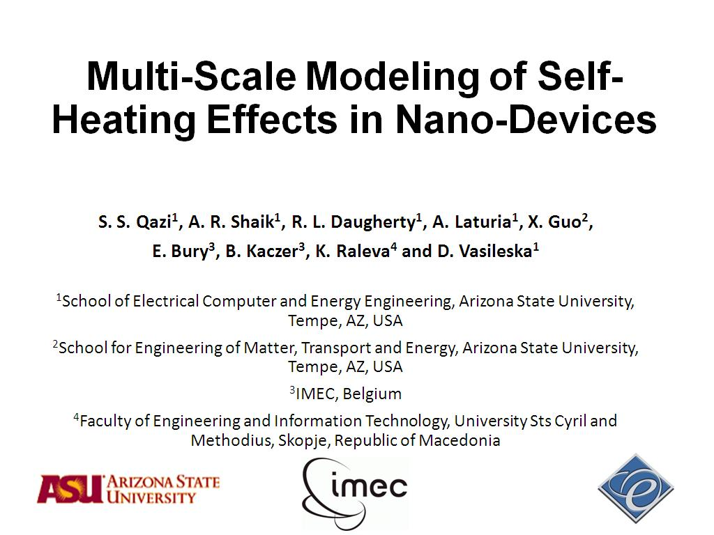 nanoHUB org - Resources: Multi-Scale Modeling of Self