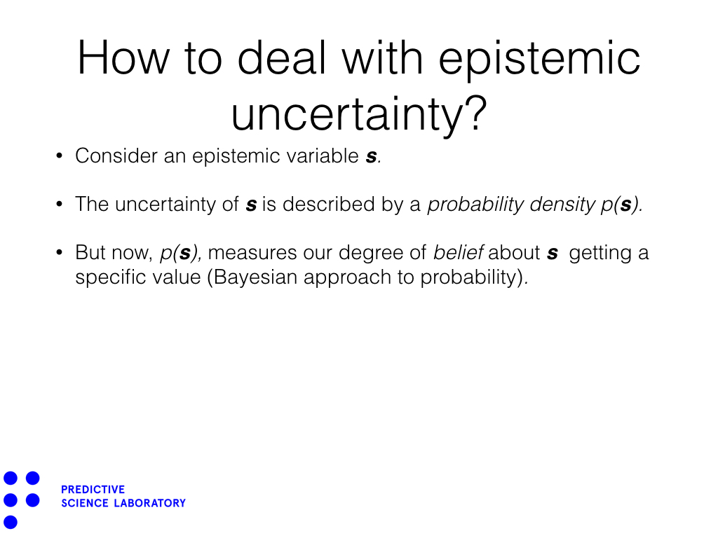 How to deal with epistemic uncertainty?