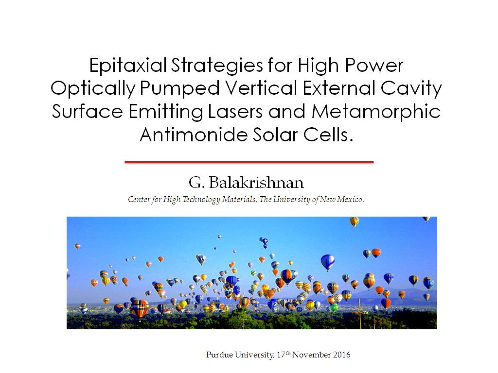 nanoHUB org - Resources: Epitaxial Strategies for High Power