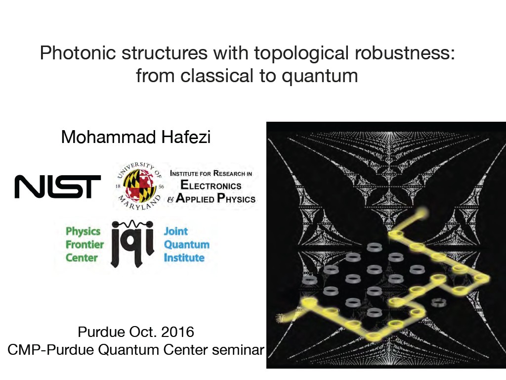 Photonic structures with topological robustness: from classical to quantum