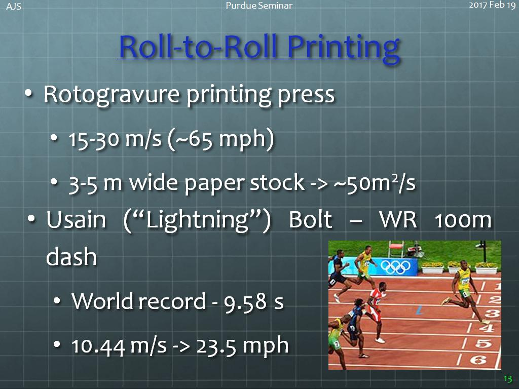 Roll-to-Roll Printing