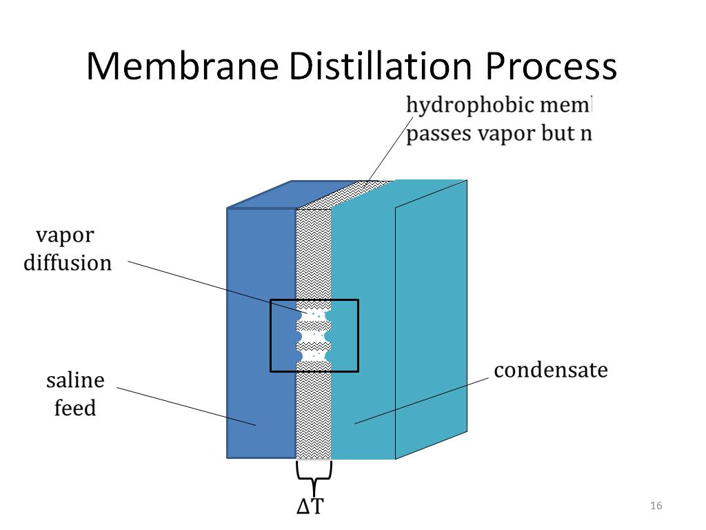 Membrane Distillation Process