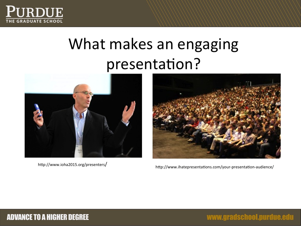 What makes an engaging presentation?