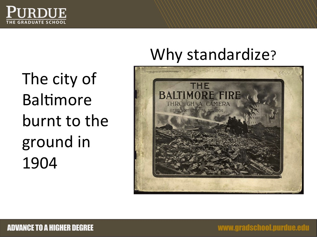 The city of Baltimore burnt to the ground in 1904