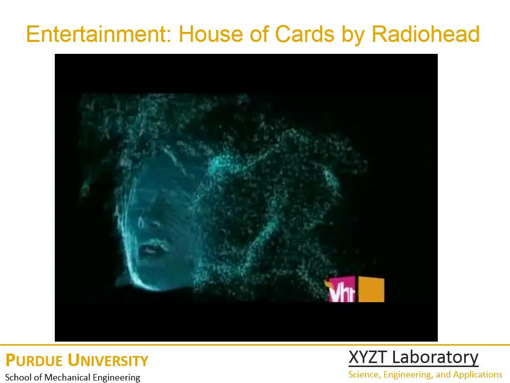 Entertainment: House of Cards by Radiohead