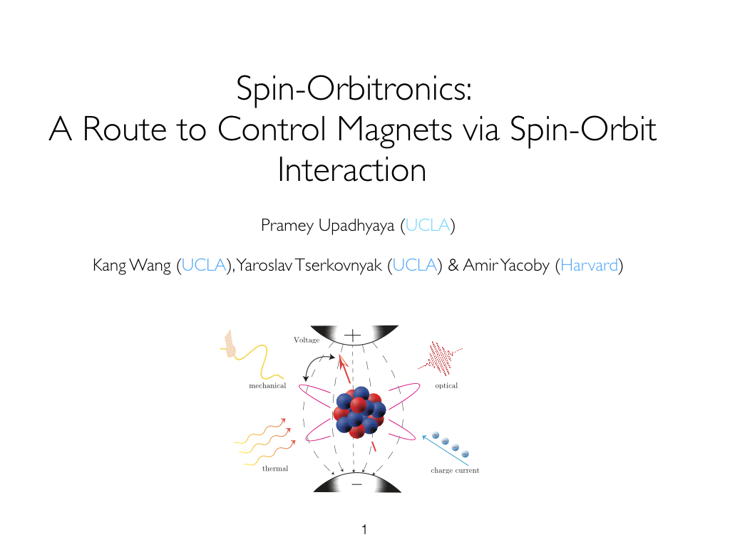 Spin-Orbitronics: A Route to Control Magnets via Spin-Orbit Interaction