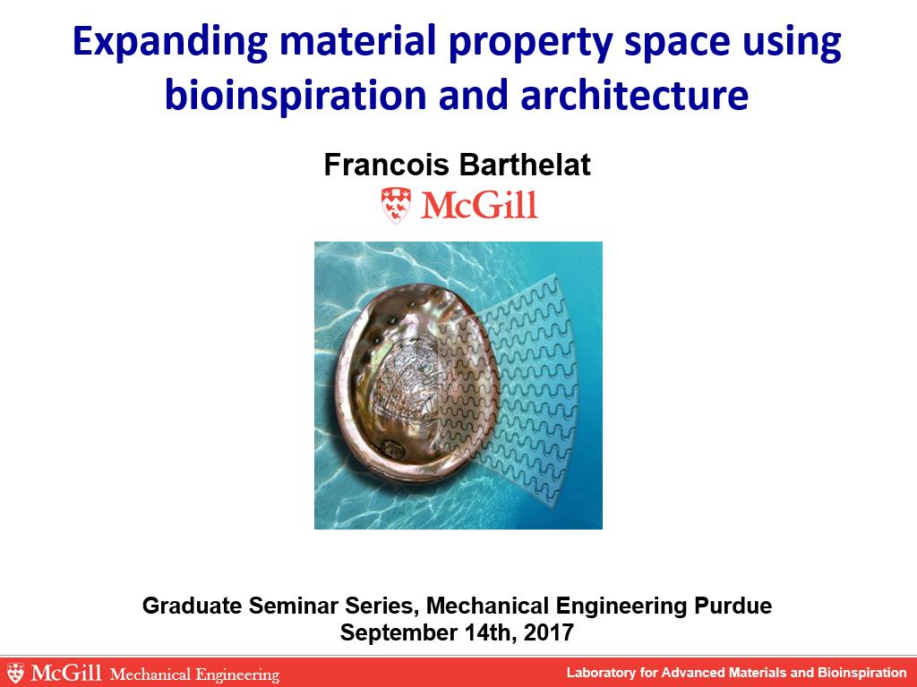 nanoHUB org - Resources: Expanding Material Property Space