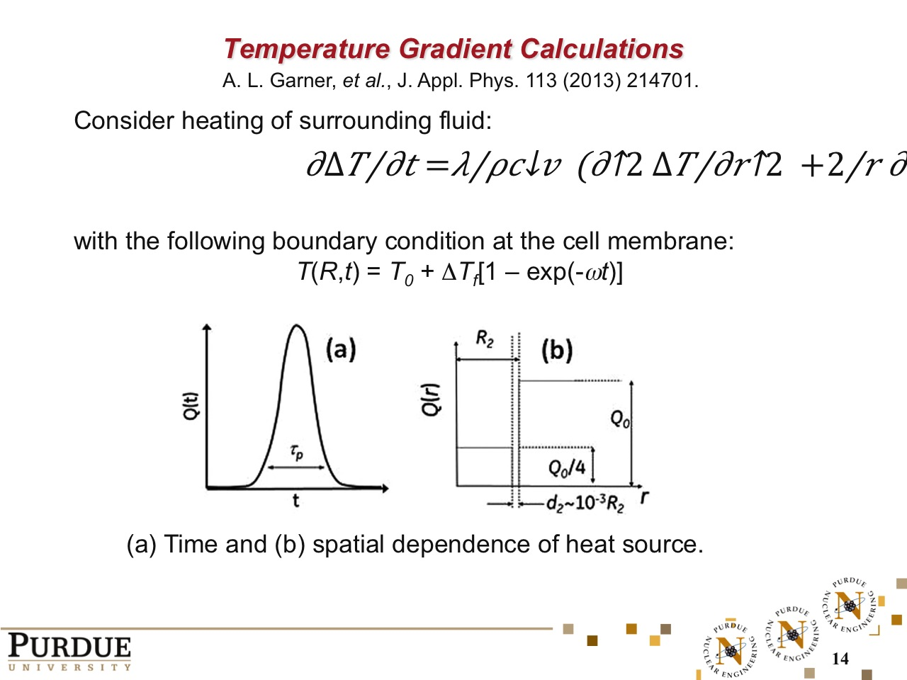 Temperature Gradient Calculations