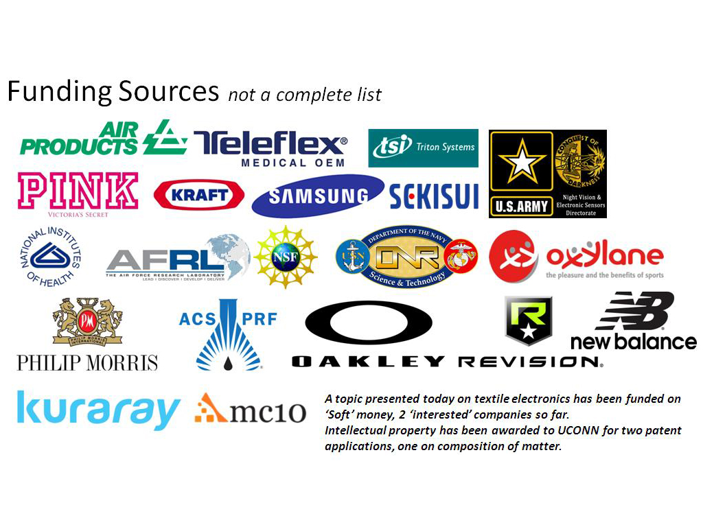 Funding Sources not a complete list