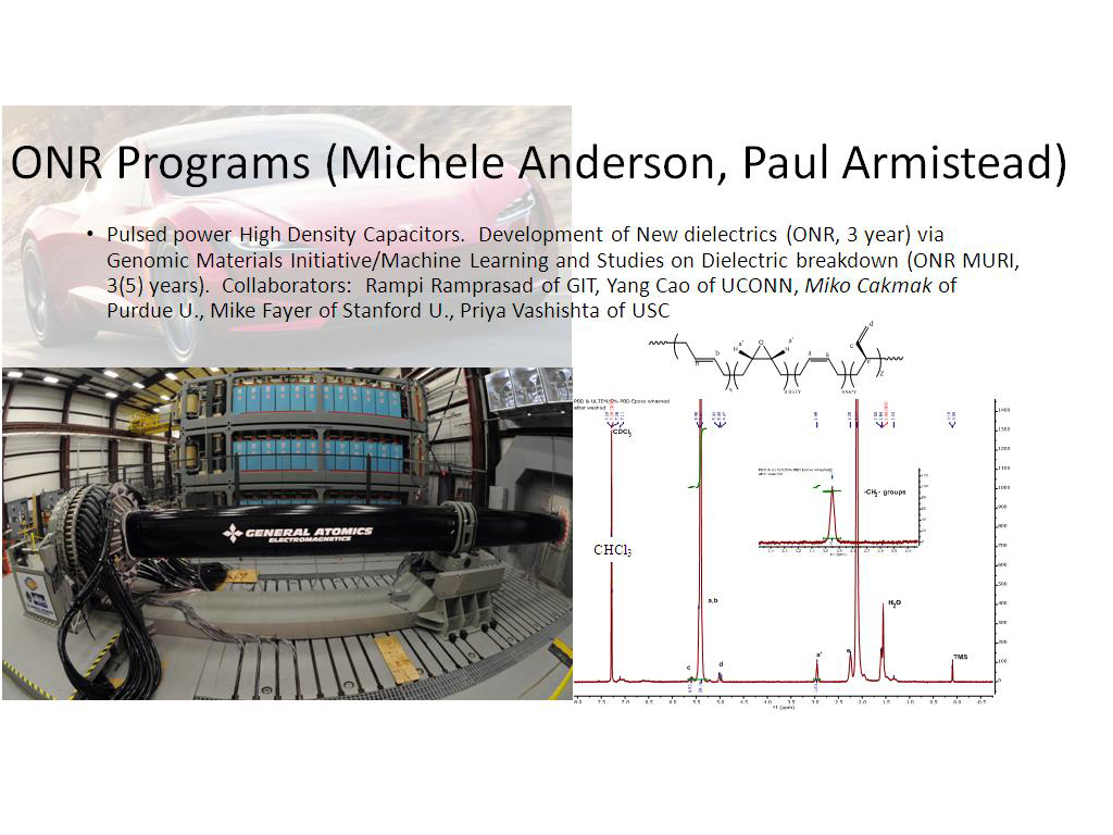 ONR Programs (Michele Anderson, Paul Armistead)