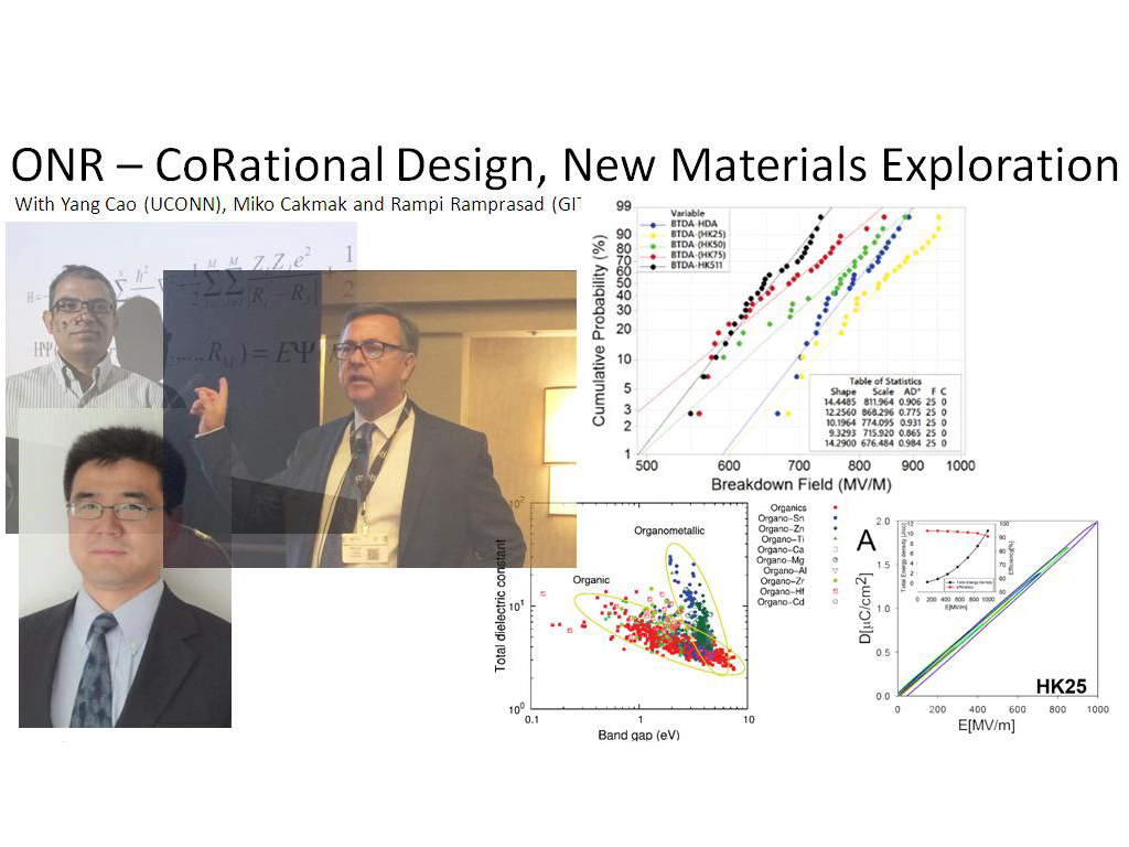 ONR – CoRational Design, New Materials Exploration