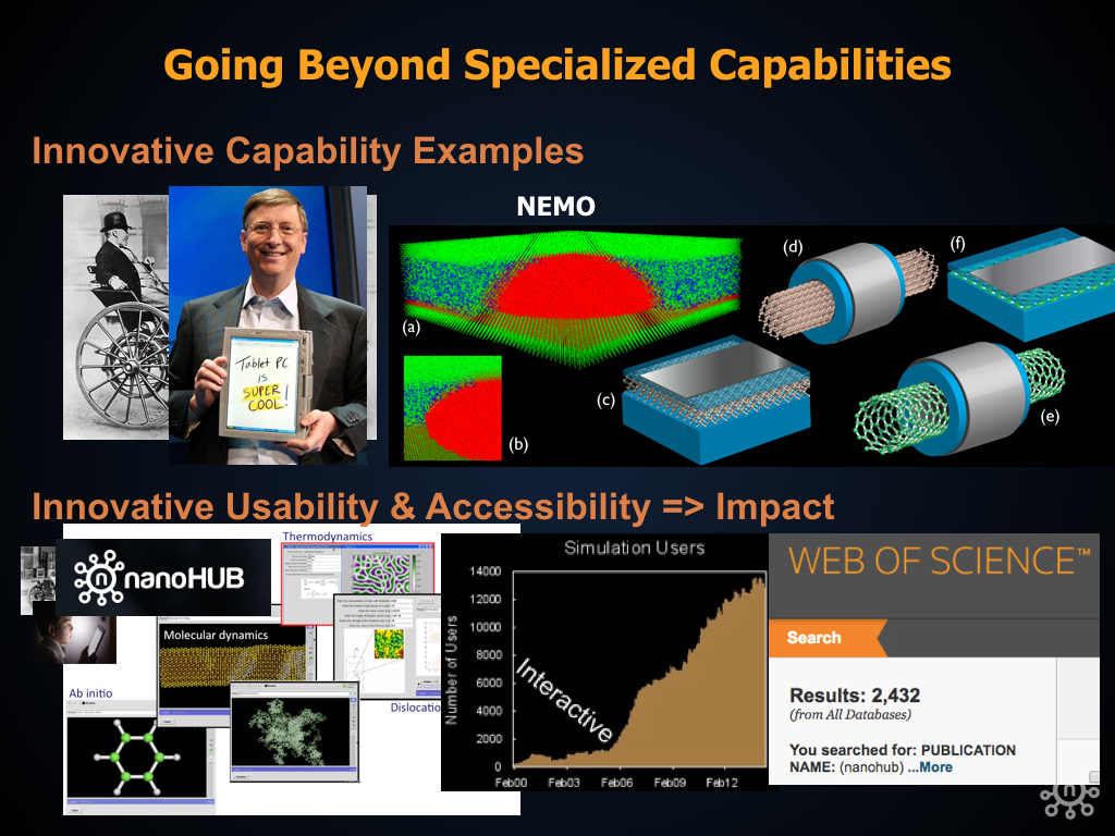 Going Beyond Specialized Capabilities