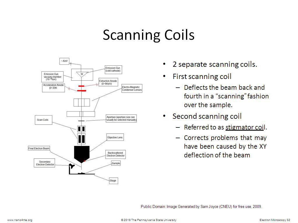 Resources Electron Microscopy Watch Presentation Coil Gun Diagram Scanning Coils 002844