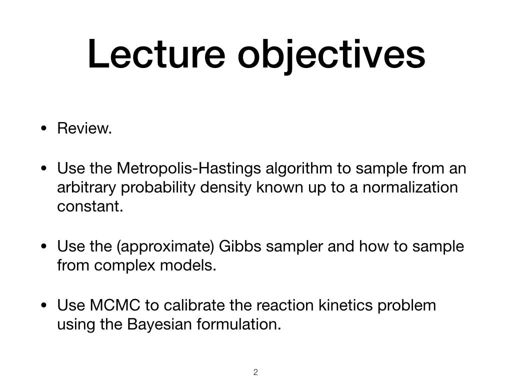 Metropolis Hastings Bayesian