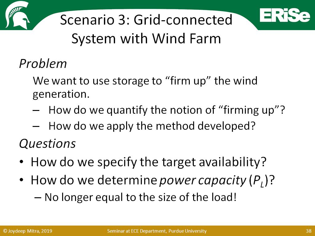 Scenario 3: Grid-connected System with Wind Farm