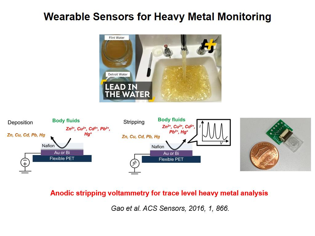 Wearable Sensors for Heavy Metal Monitoring