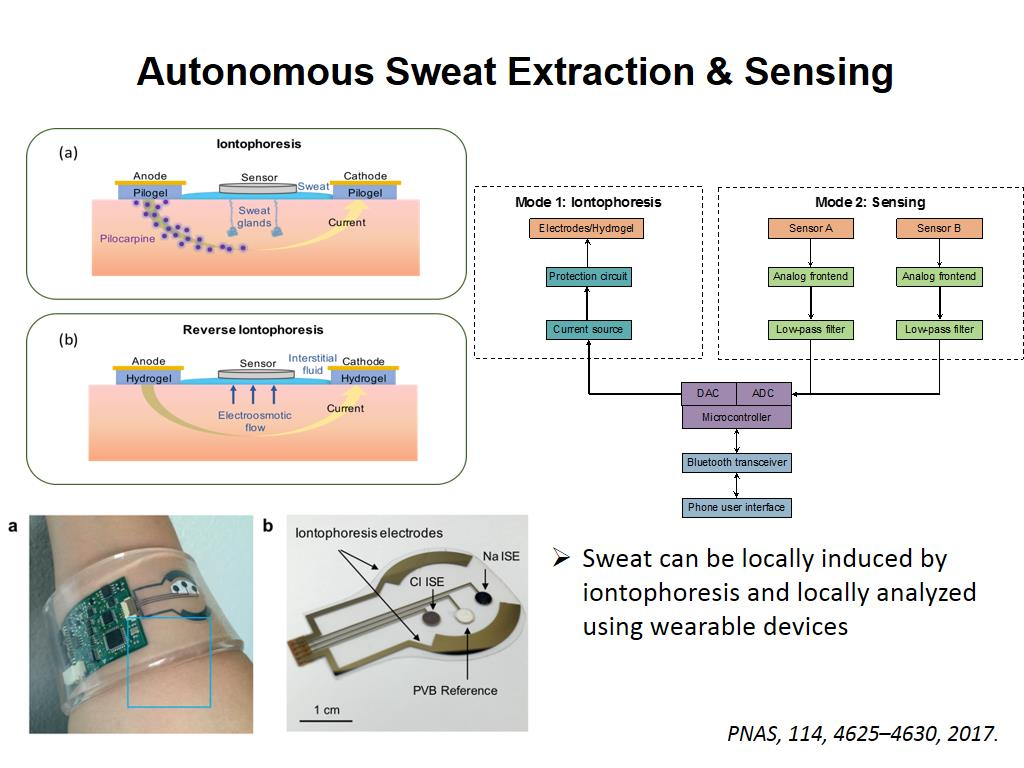 Autonomous Sweat Extraction & Sensing