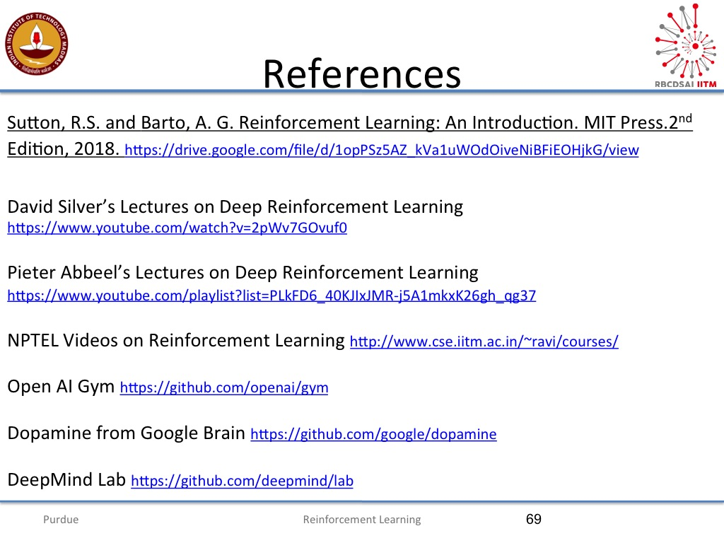 nanoHUB org - Resources: Introduction to Deep Reinforcement