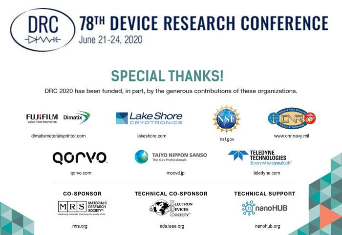 78th Device Research Conference