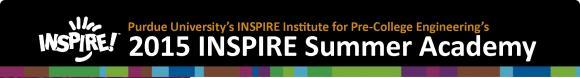 2015 INSPIRE Summer Academy